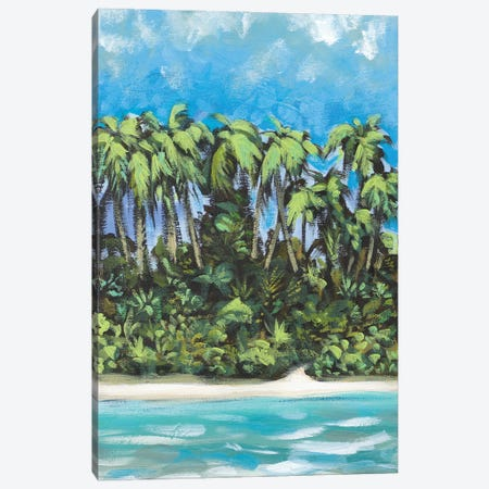 Coastal Escape I Canvas Print #DAM92} by Dan Meneely Canvas Artwork