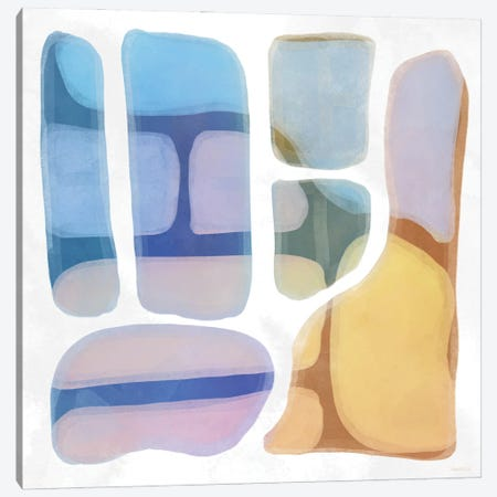 Color Litho I Canvas Print #DAM95} by Dan Meneely Canvas Art Print