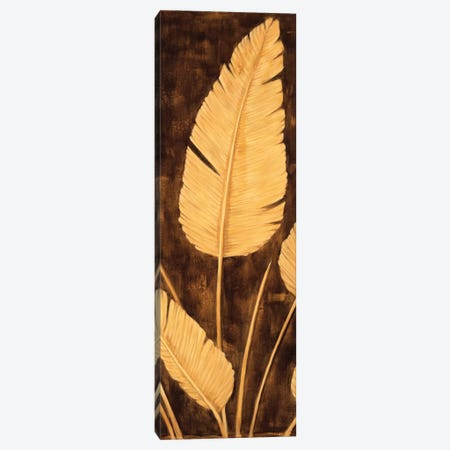 Tropical Palm Triptych II Canvas Print #DAP10} by David Parks Canvas Print