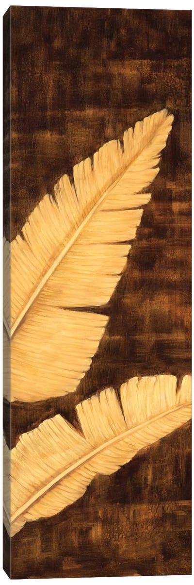 Tropical Palm Triptych III Canvas Art Print