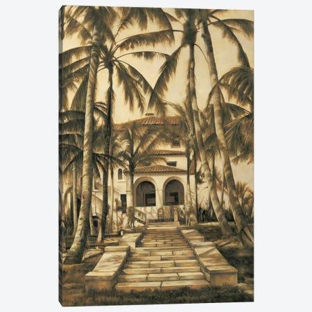 Entry To Villa Canvas Print #DAP2} by David Parks Canvas Wall Art