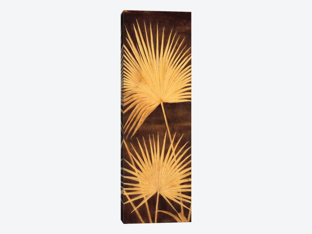 Fan Palm Triptych II by David Parks 1-piece Canvas Wall Art