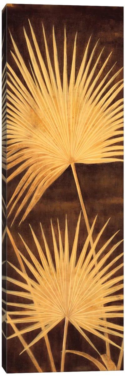 Fan Palm Triptych II Canvas Art Print