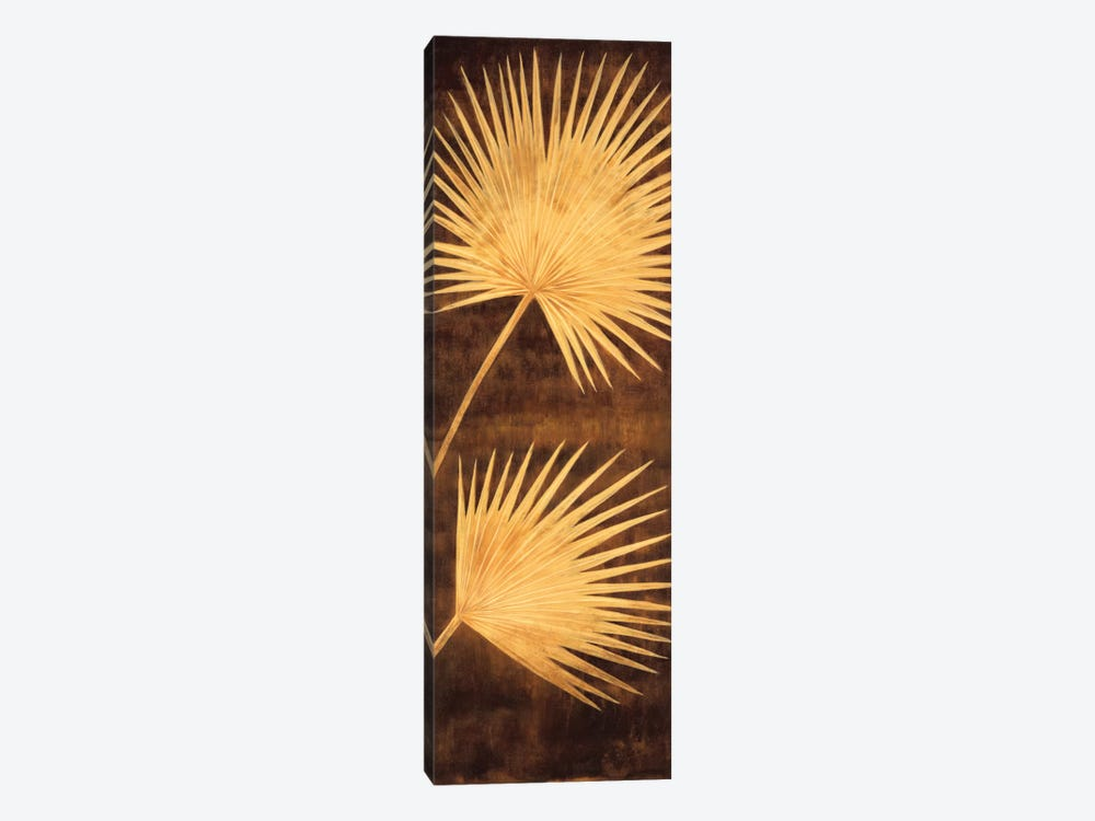 Fan Palm Triptych III by David Parks 1-piece Canvas Print