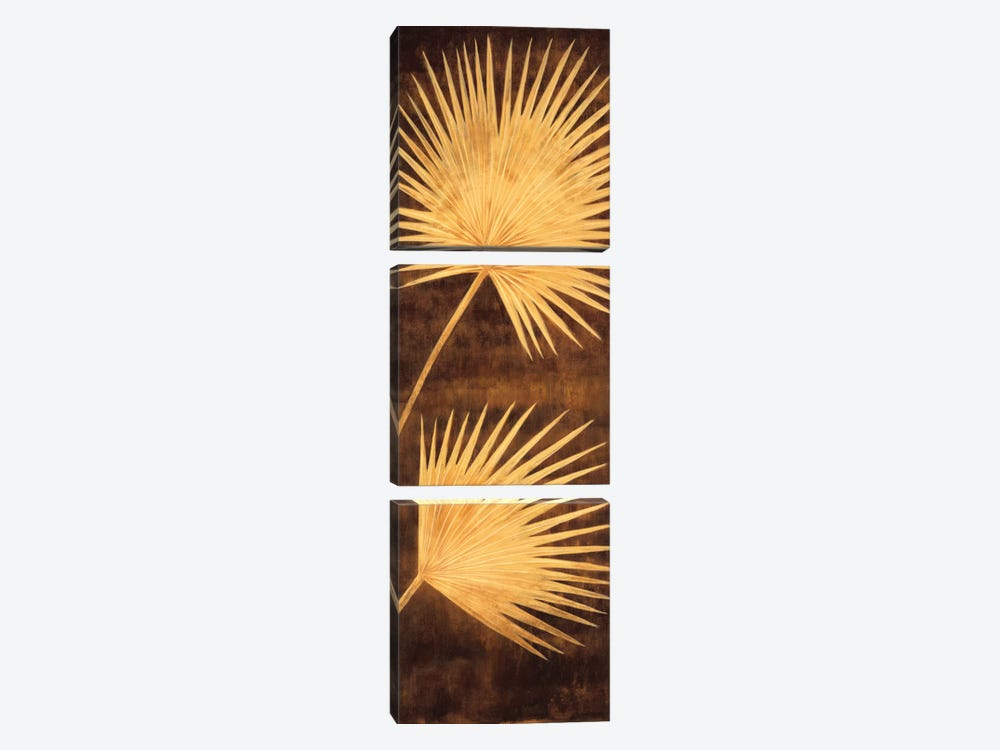 Fan Palm Triptych III 3-piece Art Print