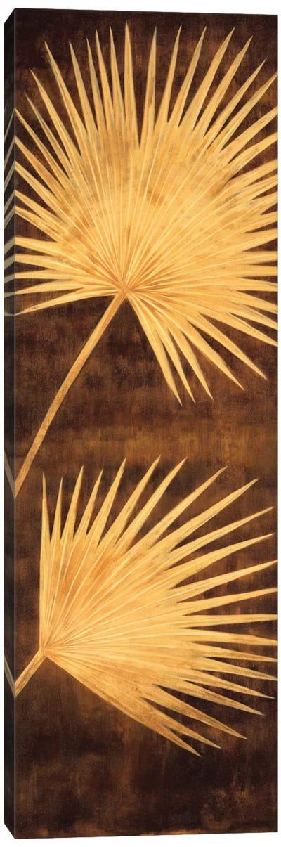 Fan Palm Triptych III Canvas Art Print