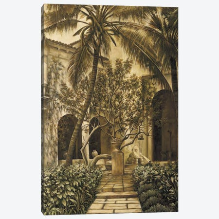 The Loggia Canvas Print #DAP6} by David Parks Art Print