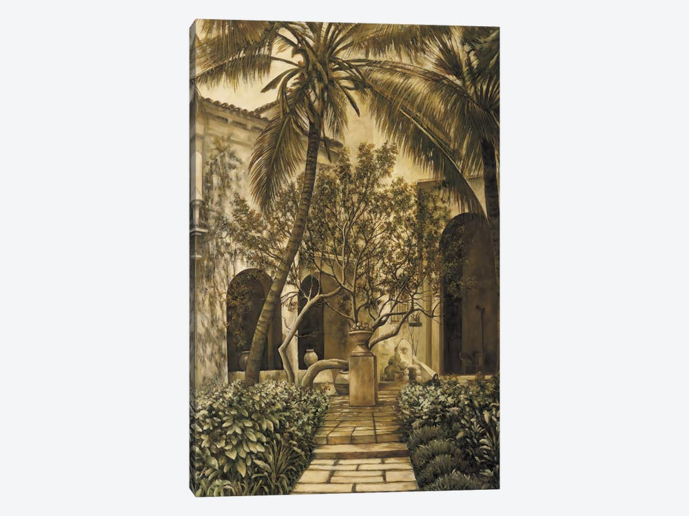 The Loggia by David Parks 1-piece Canvas Art