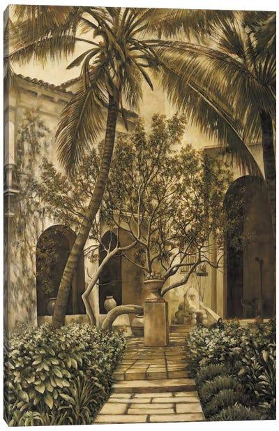 The Loggia Canvas Art Print