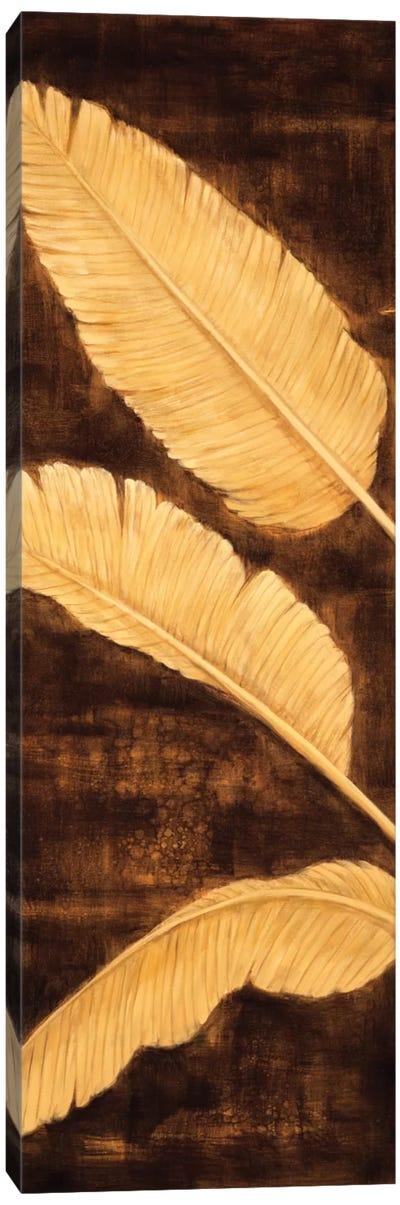 Tropical Palm Triptych I Canvas Art Print