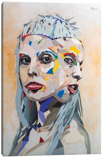 I Fink U Freeky Canvas Art Print