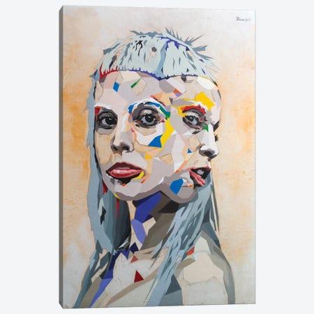 I Fink U Freeky Canvas Print #DAS10} by DAAS Canvas Wall Art