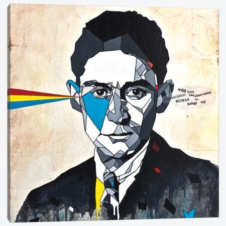 Kafka Canvas Print #DAS12} by DAAS Canvas Art