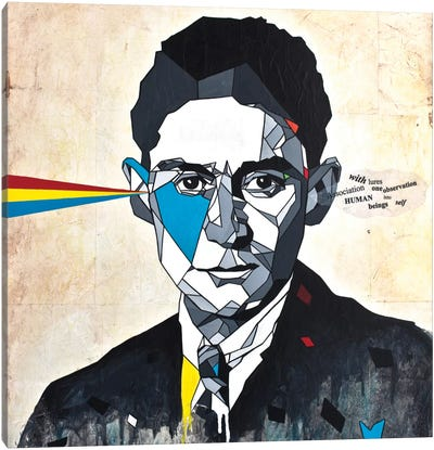 Kafka Canvas Art Print