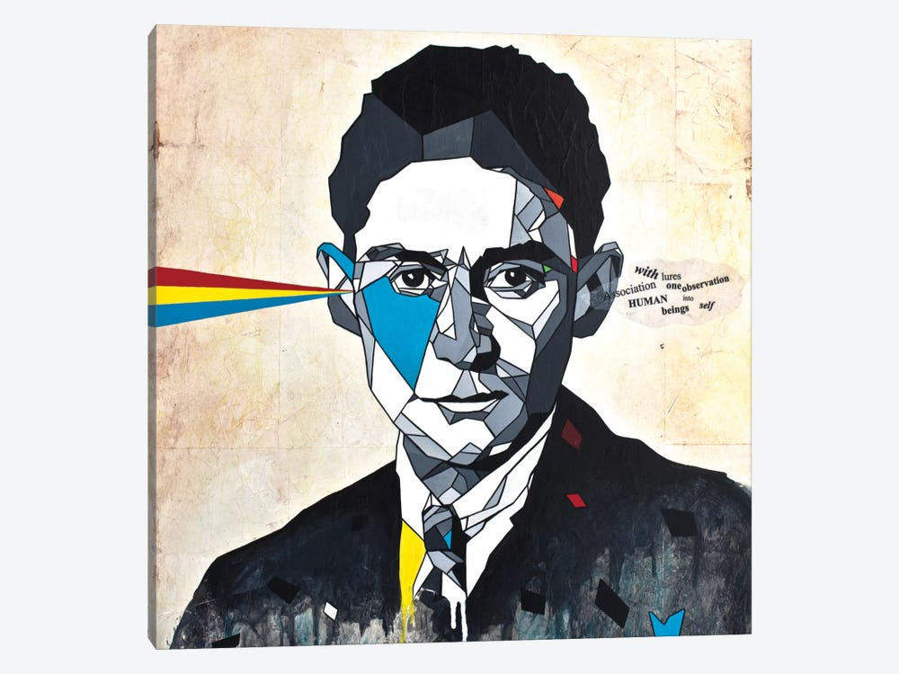 Kafka by DAAS 1-piece Art Print