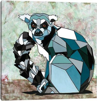 Lemur Canvas Print #DAS13