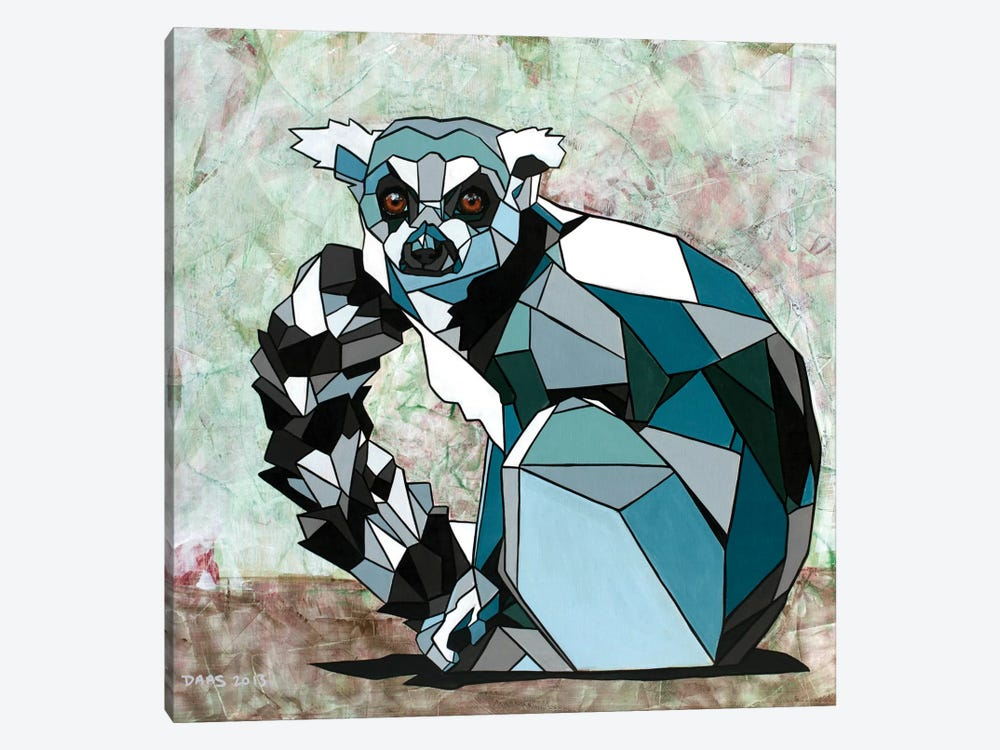 Lemur by DAAS 1-piece Canvas Art