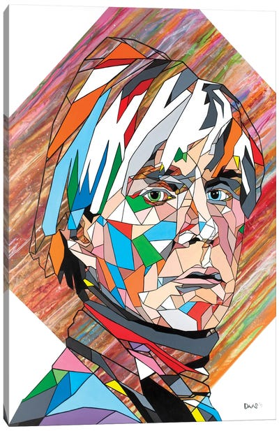 Mr Warhol Canvas Art Print