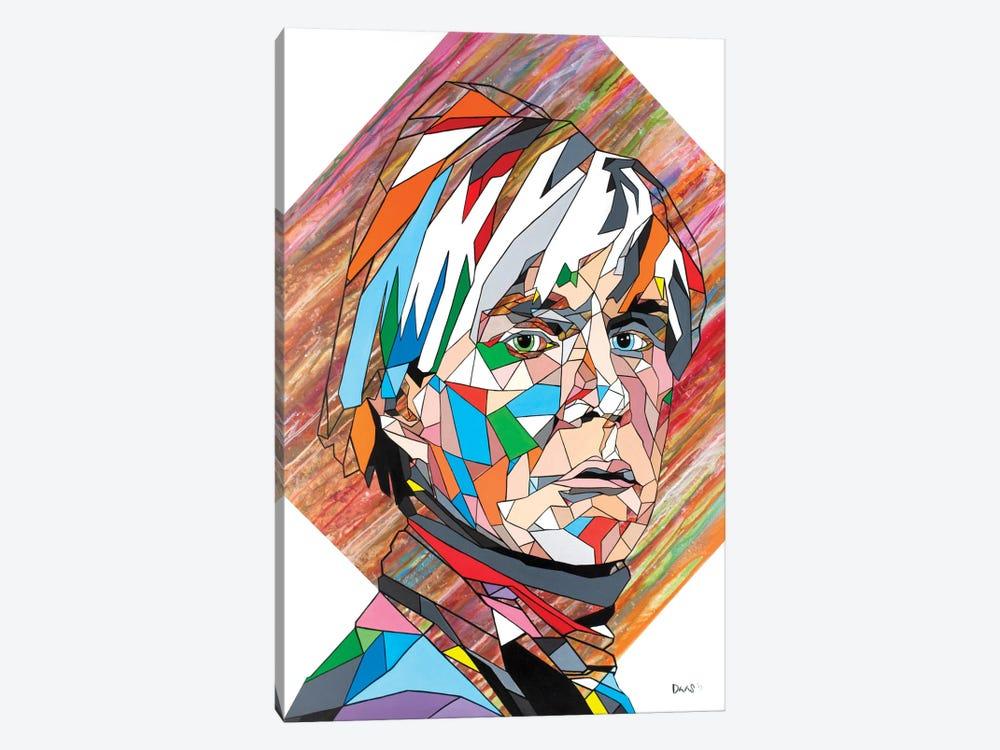 Mr. Warhol by DAAS 1-piece Canvas Wall Art