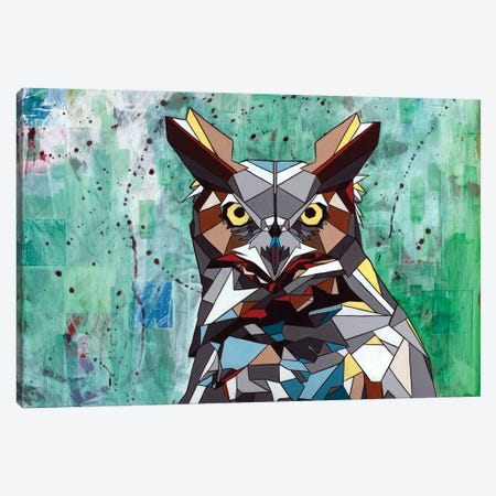 Owl Canvas Print #DAS16} by DAAS Canvas Art Print