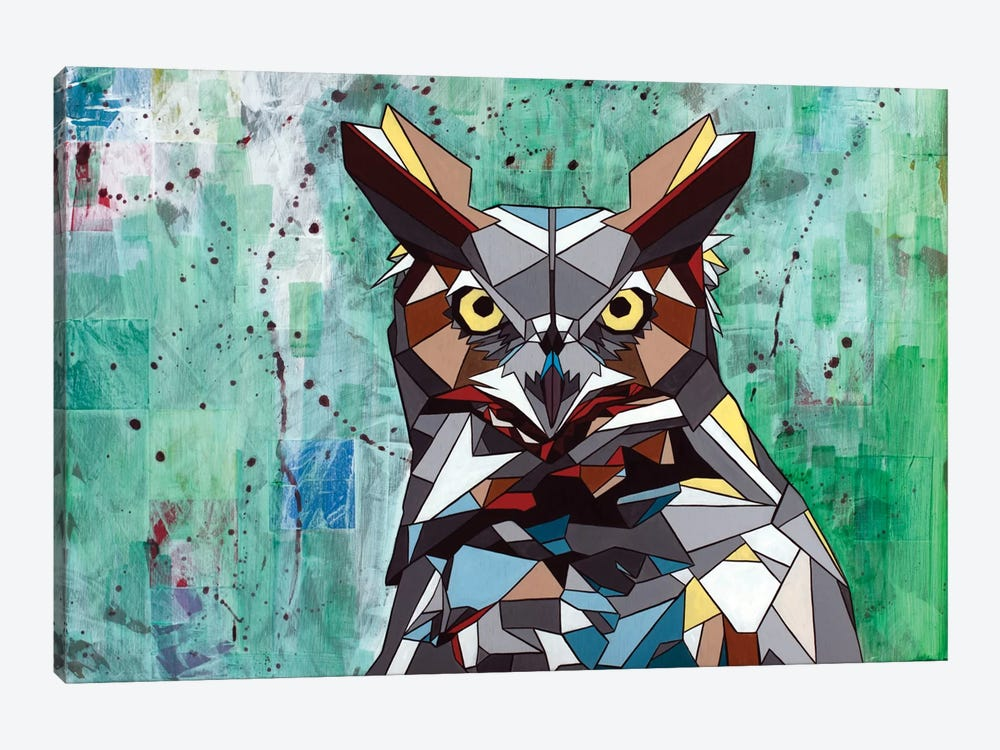 Owl by DAAS 1-piece Canvas Print