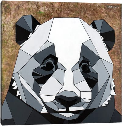 Panda Canvas Print #DAS18