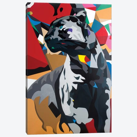 Panther Canvas Print #DAS19} by DAAS Canvas Art