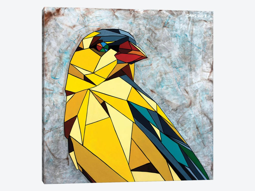 American Goldfinch by DAAS 1-piece Canvas Wall Art