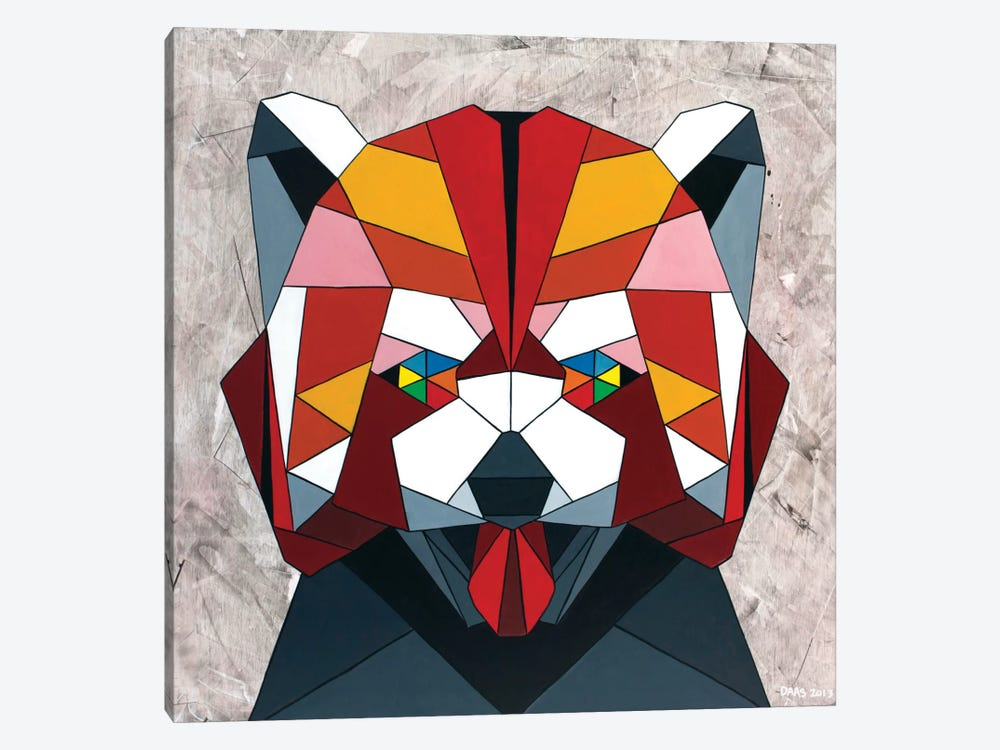 Red Panda by DAAS 1-piece Canvas Artwork