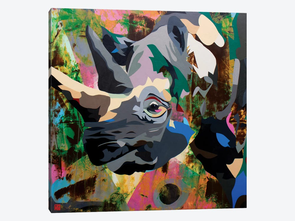 Rhino by DAAS 1-piece Art Print