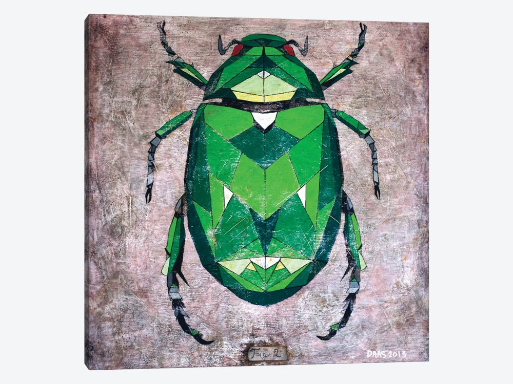 Scarab by DAAS 1-piece Canvas Artwork