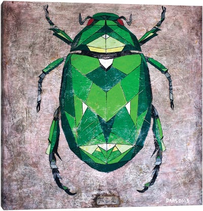 Scarab Canvas Art Print