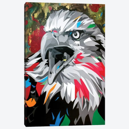 Bald Eagle Canvas Print #DAS26} by DAAS Canvas Wall Art