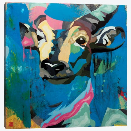 Antelope Canvas Print #DAS2} by DAAS Canvas Print
