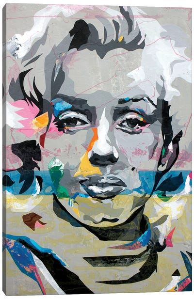 Marilyn Monroe Canvas Print #DAS30