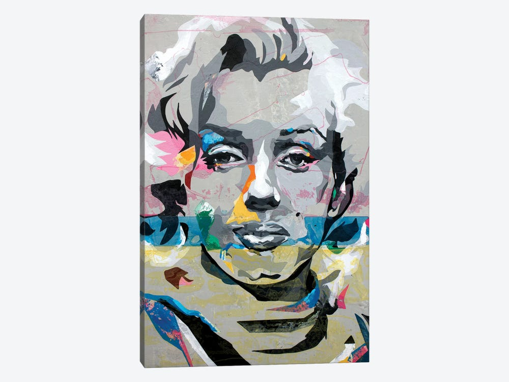 Marilyn Monroe by DAAS 1-piece Art Print