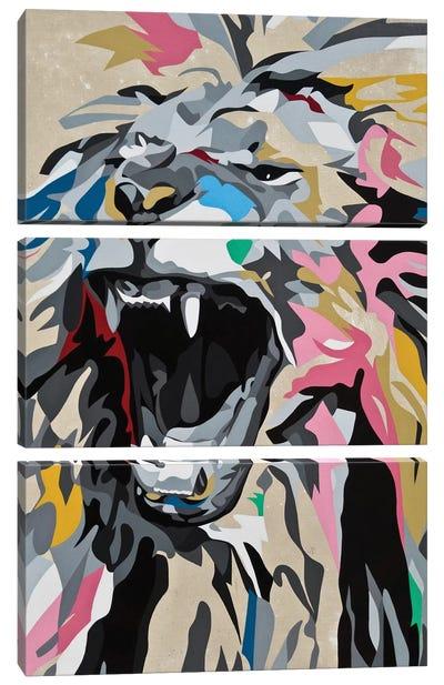 Roaring Lion Canvas Art Print