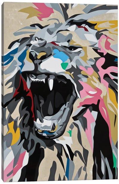 Roaring Lion Canvas Print #DAS31