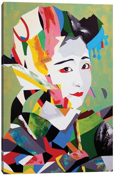 Maiko Remix Canvas Art Print