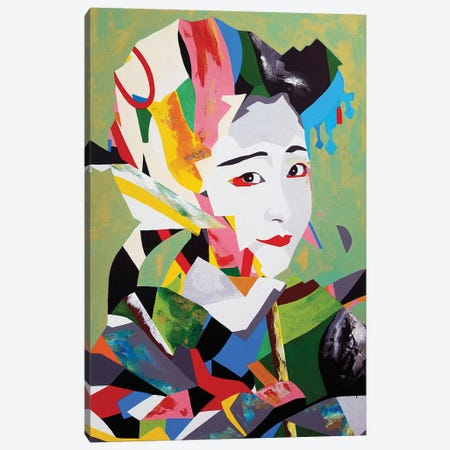 Maiko Remix Canvas Print #DAS34} by DAAS Canvas Print