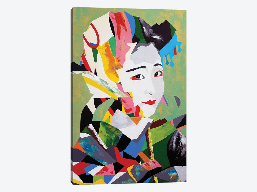 Maiko Remix by DAAS 1-piece Canvas Print