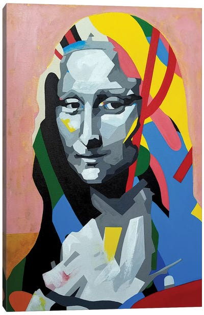 Mona Canvas Art Print