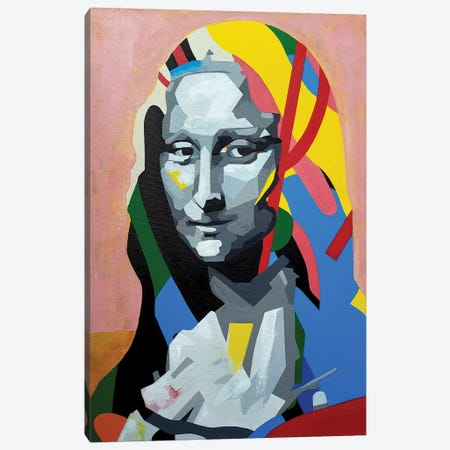 Mona Canvas Print #DAS35} by DAAS Art Print