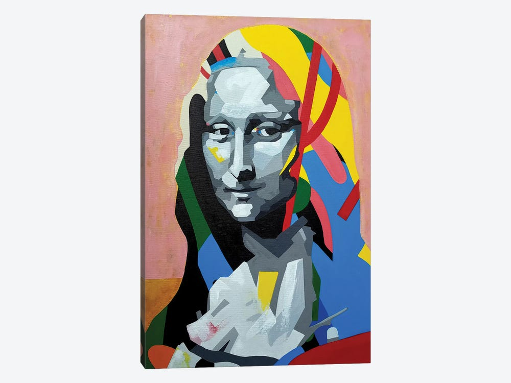 Mona by DAAS 1-piece Canvas Wall Art