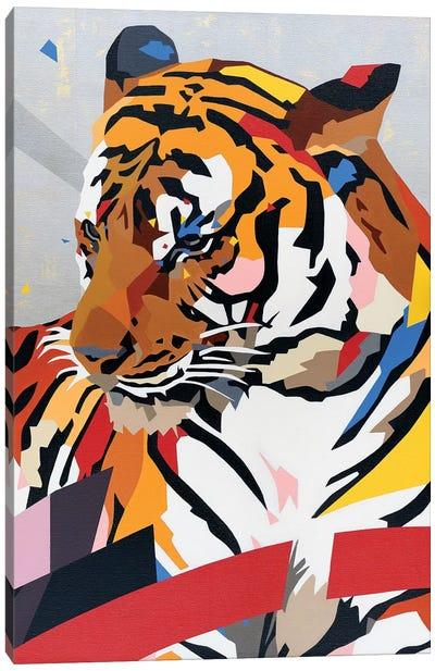 China Tiger Canvas Art Print