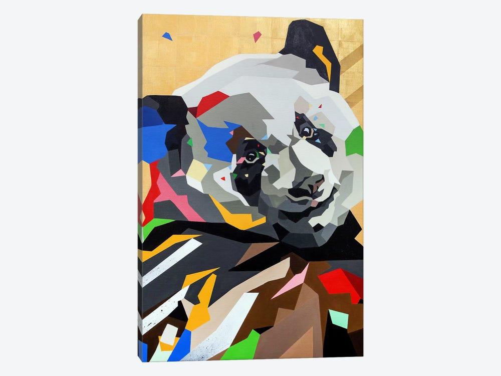 Happy Panda by DAAS 1-piece Canvas Print