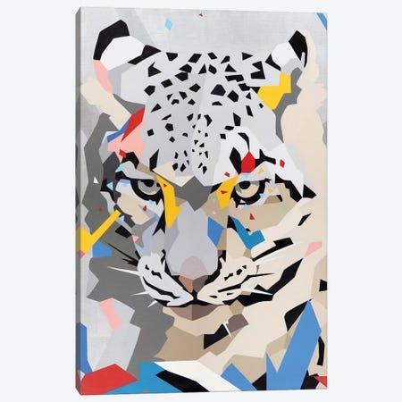 Snow Panther Canvas Print #DAS40} by DAAS Canvas Print