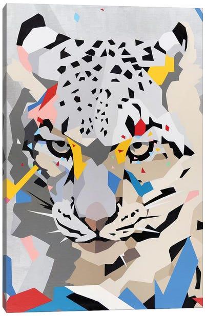 Snow Panther Canvas Art Print
