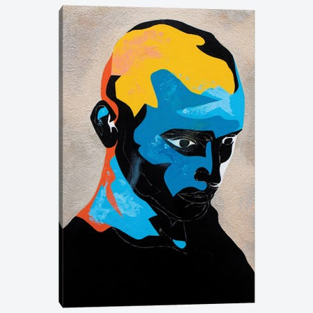 Study For A Portrait IV Canvas Print #DAS47} by DAAS Canvas Artwork