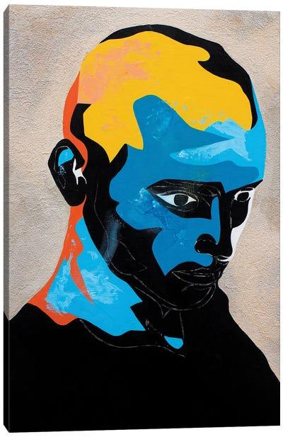Study For A Portrait IV Canvas Art Print